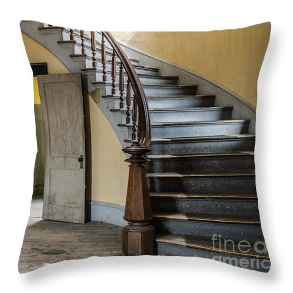 Once Upon A Time Throw Pillow by Sue Smith