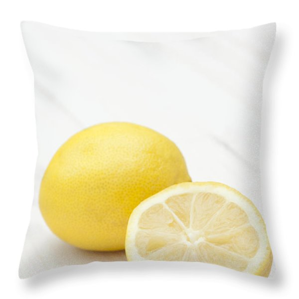 One and a Half Throw Pillow by Anne Gilbert