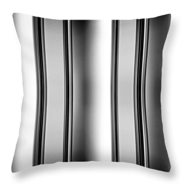 One and Two Halves Throw Pillow by Bob Orsillo