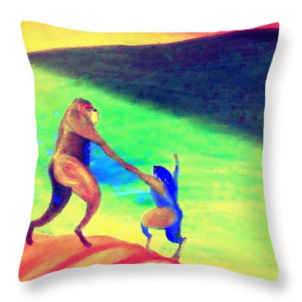 One day All this will be yours  Throw Pillow by Hilde Widerberg