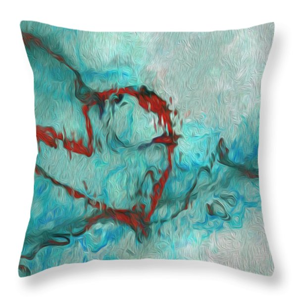 One Throw Pillow by Jack Zulli