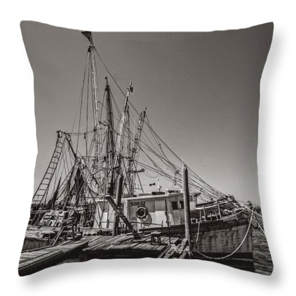 One More Season Throw Pillow by Debra and Dave Vanderlaan