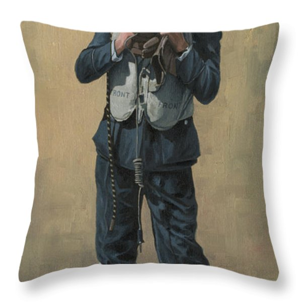 One of The Few Throw Pillow by Wade Meyers