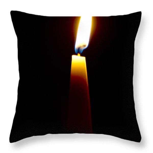 One Small Light Throw Pillow by Christi Kraft