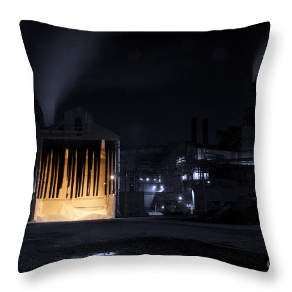 One Two Freddy's Coming For You Throw Pillow by Juli Scalzi