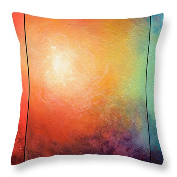 One Verse Throw Pillow by Jaison Cianelli