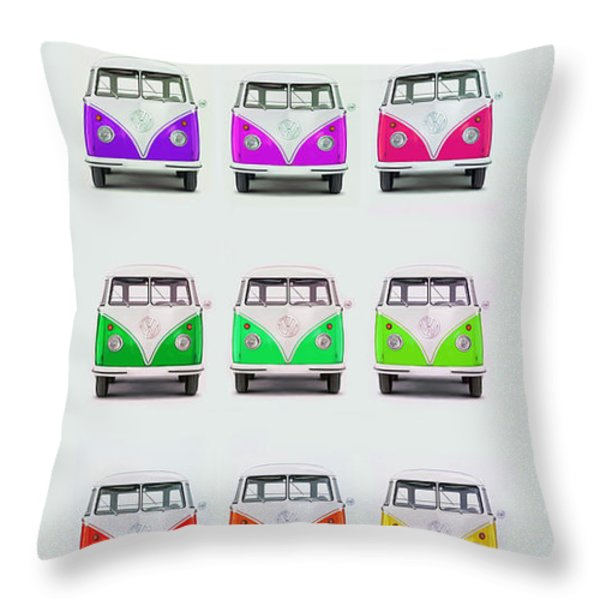 Only One Lemon Throw Pillow by Mark Rogan