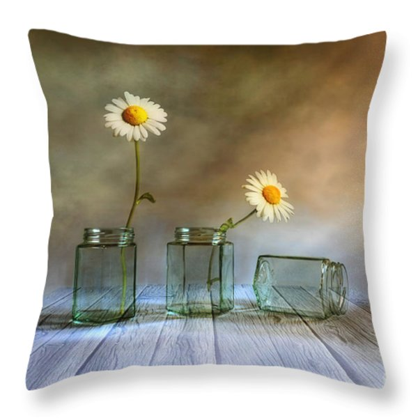 Only Two Throw Pillow by Veikko Suikkanen