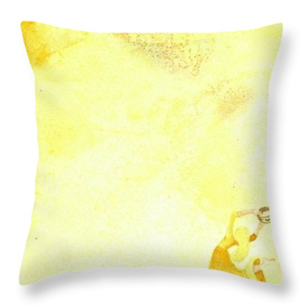 Open Heaven Throw Pillow by Michelle R Sparks