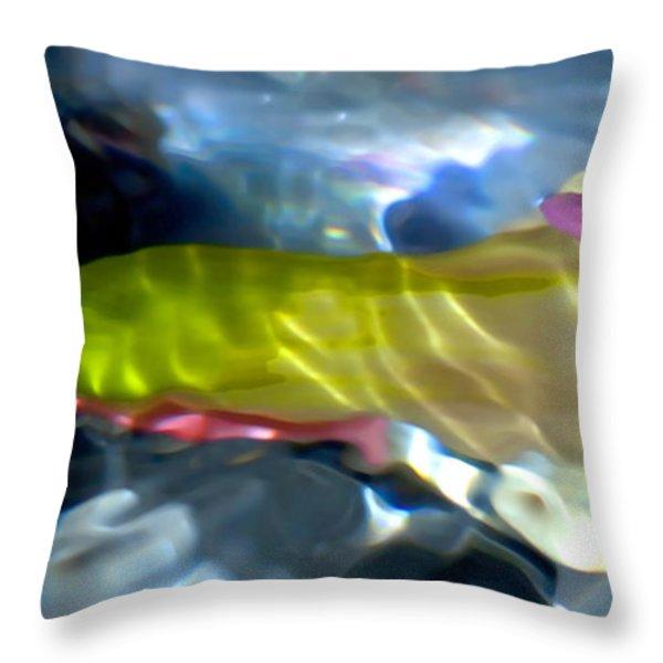 Ophelia Throw Pillow by Theresa Tahara