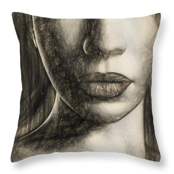 Oracle Throw Pillow by Bob Orsillo