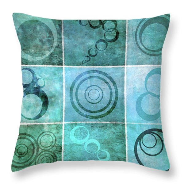 Orb Ensemble 1 Throw Pillow by Angelina Vick