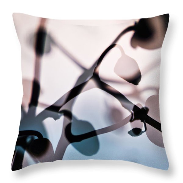 Orchid 1 Throw Pillow by Eiwy Ahlund