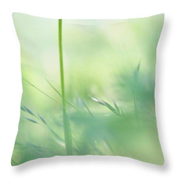 Orchid Throw Pillow by Simona Ghidini