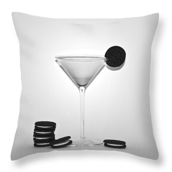 Oreo Happy Hour Throw Pillow by Bill Cannon