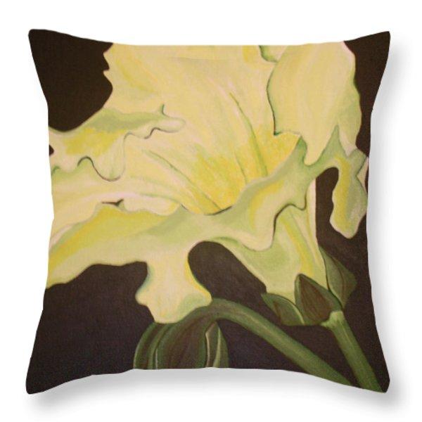 Organic 4 Throw Pillow by Megan Washington