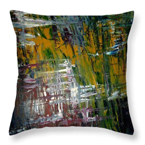 Origins Of Plaid Throw Pillow by Karen Butscha
