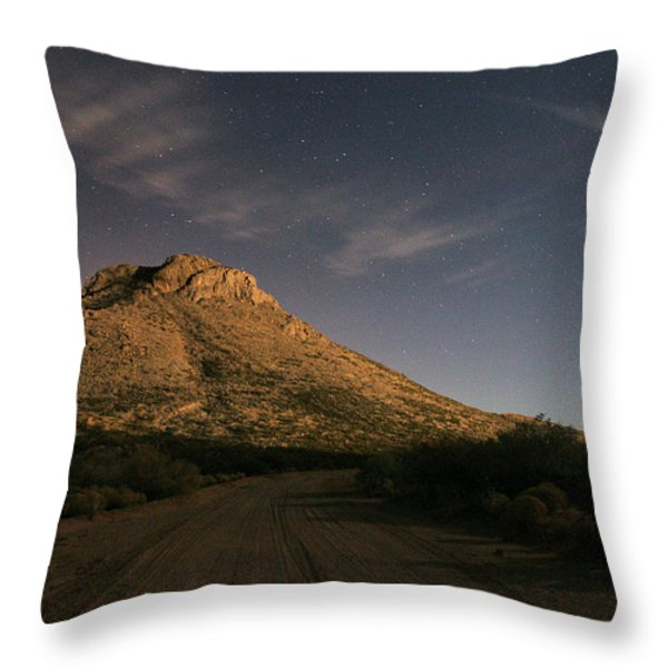Oro Grande Nights Throw Pillow by JC Findley