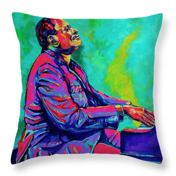 Oscar Throw Pillow by Derrick Higgins