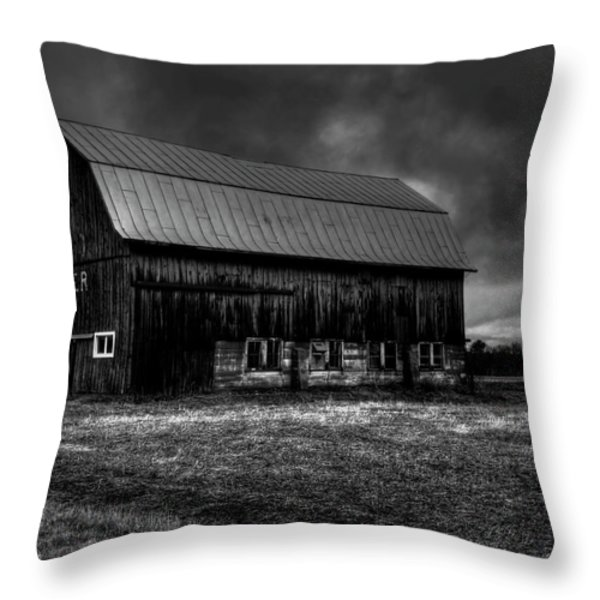 Oslo Corner 1 Throw Pillow by Thomas Young