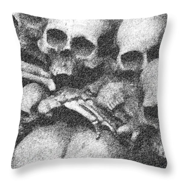 Our End Throw Pillow by Mark Grayden