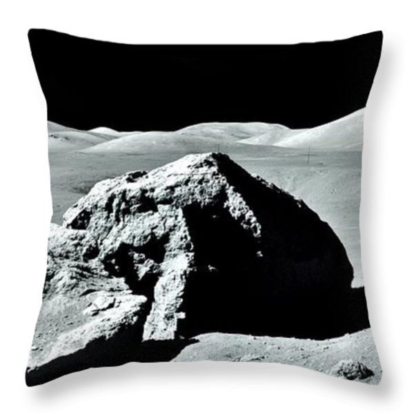 Out For A Drive Throw Pillow by Benjamin Yeager