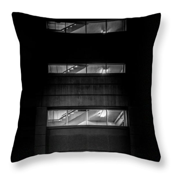 Outside Looking In Throw Pillow by Bob Orsillo