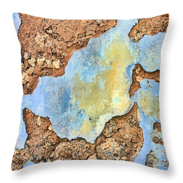 Over The Years Throw Pillow by Marcia Colelli