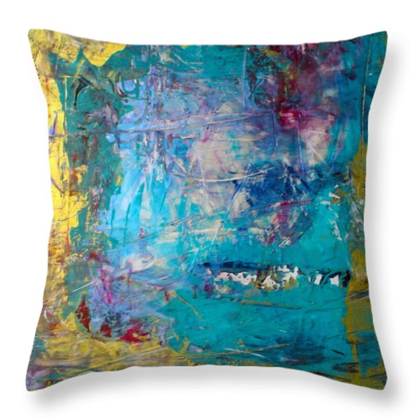 Overture Throw Pillow by Mary Sullivan