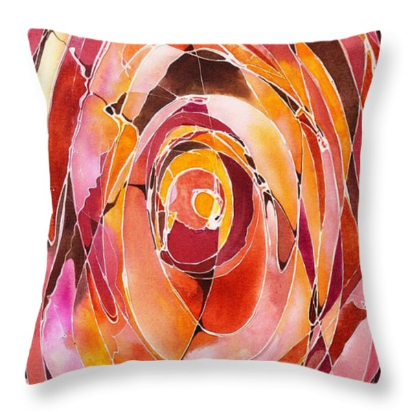 Overwhelming Throw Pillow by Pat Purdy