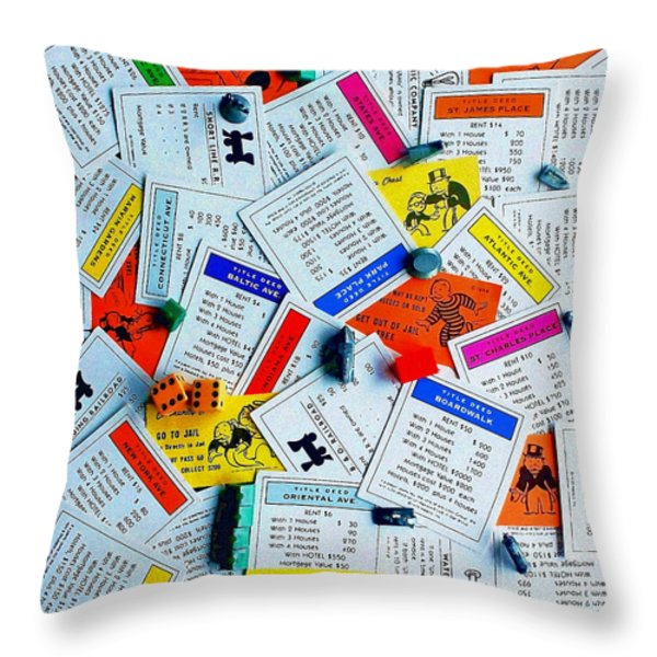 Own It All Throw Pillow by Benjamin Yeager