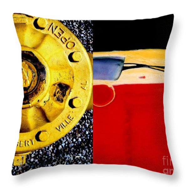 p HOTography 117 Throw Pillow by Marlene Burns