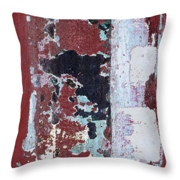 Paint Me A Boat Throw Pillow by Carol Leigh