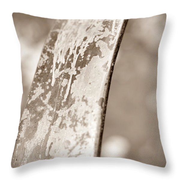 Palm Reader Throw Pillow by Luke Moore