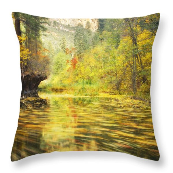 Parade of Autumn Throw Pillow by Peter Coskun