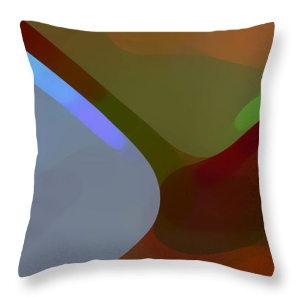 Paradise Found 1 Panel A Throw Pillow by Amy Vangsgard