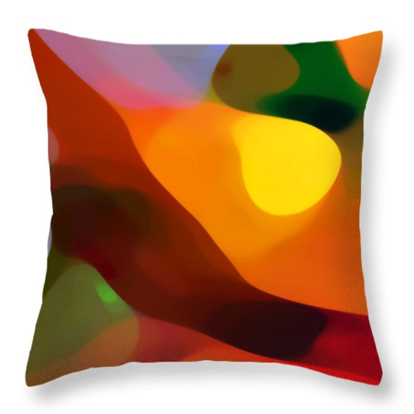 Paradise Found 2 Throw Pillow by Amy Vangsgard