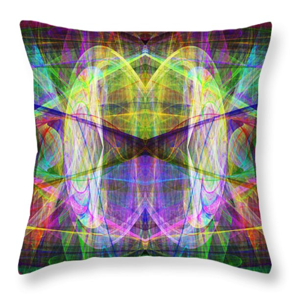 Parallel Universe ap130511-22-2b Throw Pillow by Wingsdomain Art and Photography