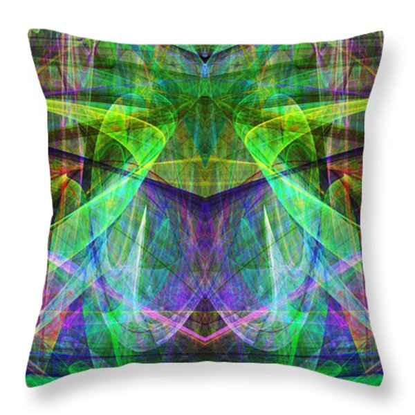 Parallel Universe ap130511-22 Throw Pillow by Wingsdomain Art and Photography