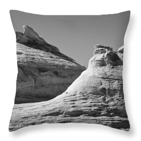 Paria Utah VII Throw Pillow by David Gordon