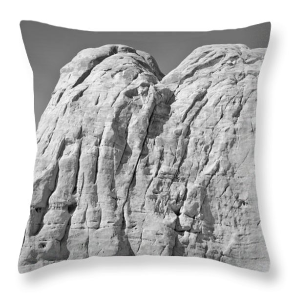 Paria Utah X Throw Pillow by David Gordon