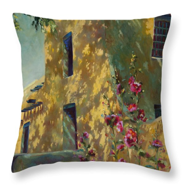 Park Avenue Pueblo Throw Pillow by Chris Brandley