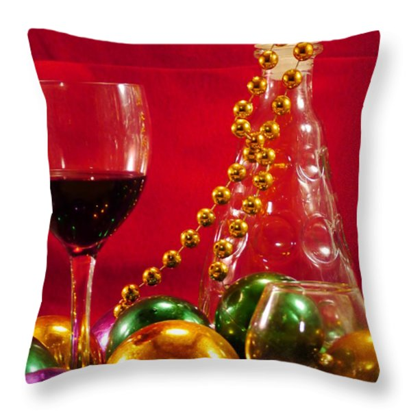 Party Time Throw Pillow by Anthony Walker Sr
