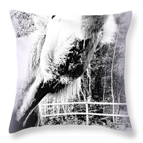 party time Throw Pillow by Hilde Widerberg