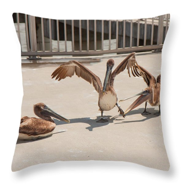 Party Time Throw Pillow by John Bailey