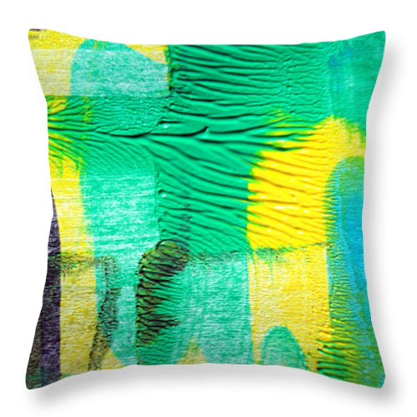 Passing Time Acrylic Mind Image  Throw Pillow by Sir Josef  Putsche