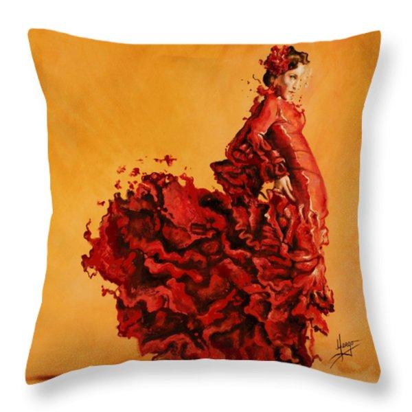 Passion Throw Pillow by Karina Llergo Salto