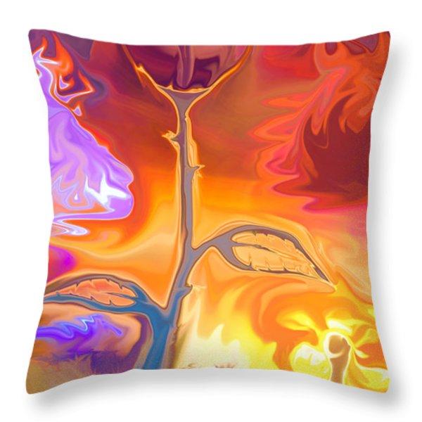 Passion Throw Pillow by Sotiris Filippou