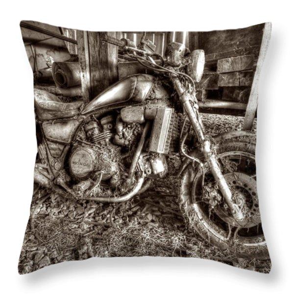 Past Glory Days Throw Pillow by Dan Friend
