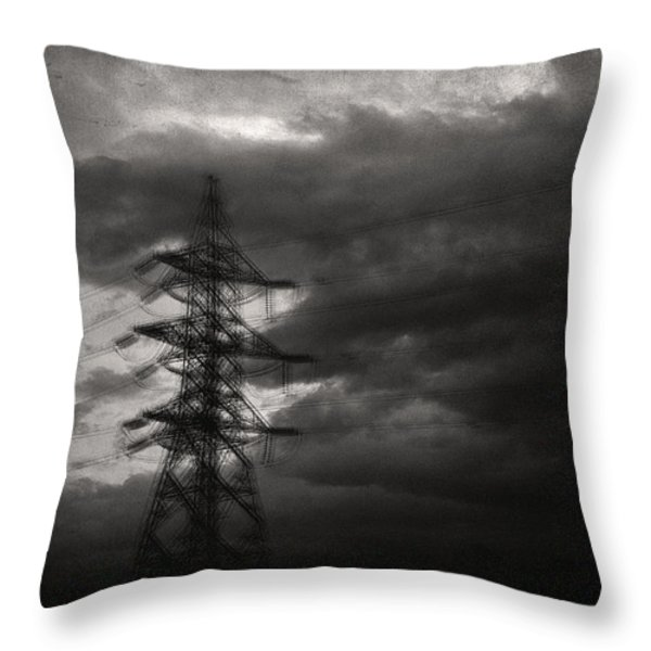 Past Throw Pillow by Taylan Soyturk